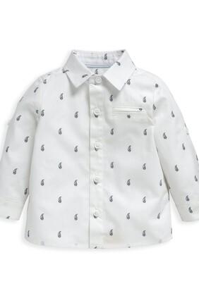 قميص بنقشة بيزلي