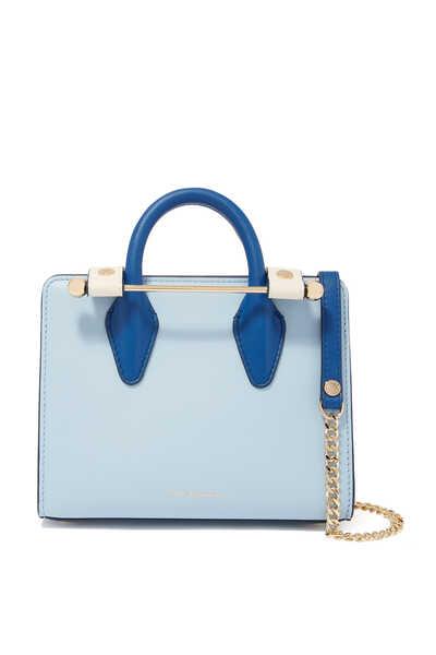حقيبة يد نانو جلد بثلاثة ألوان