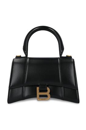 حقيبة بيد علوية وتصميم مقوس مقاس XS