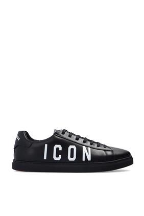 سنيكرز جلد بشعار ICON