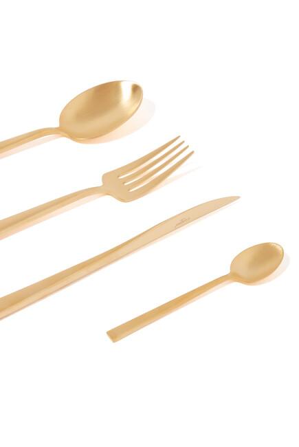 طقم أدوات مائدة دونا، 24 قطعة