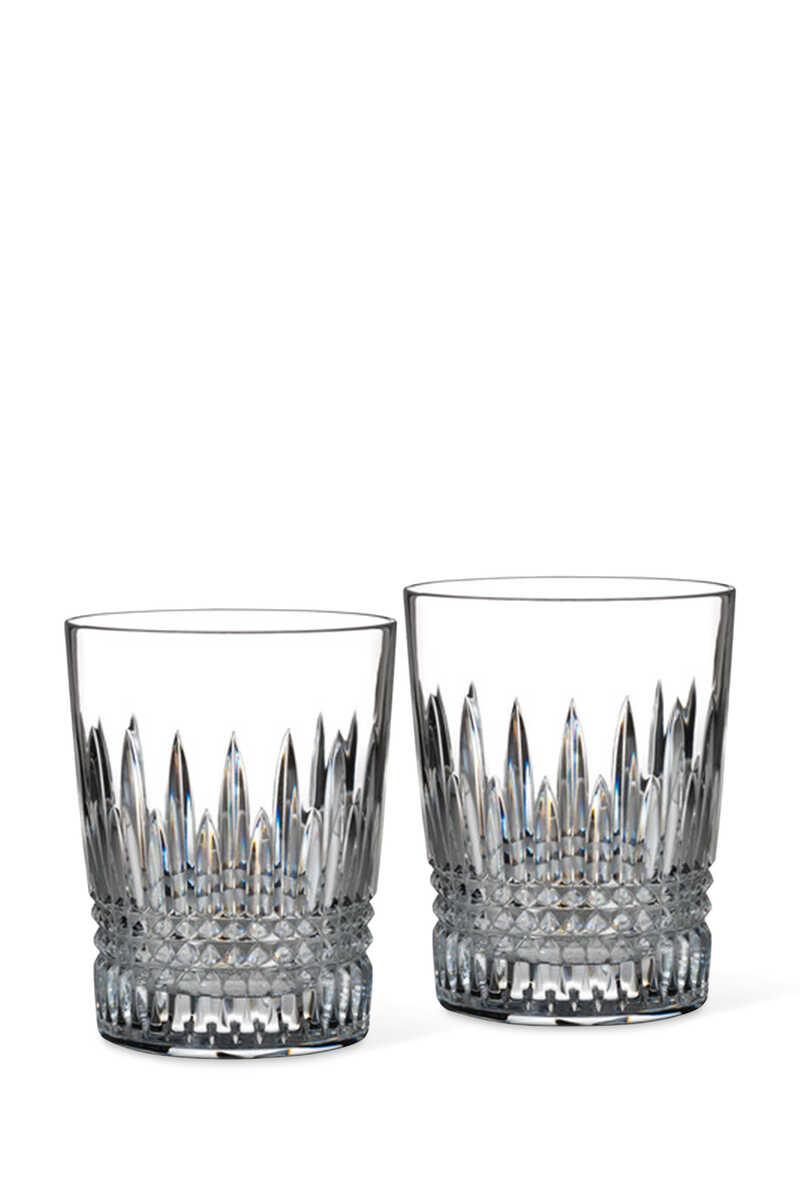 طقم أكواب زجاجية ليزمور دايموند، قطعتان image number 1