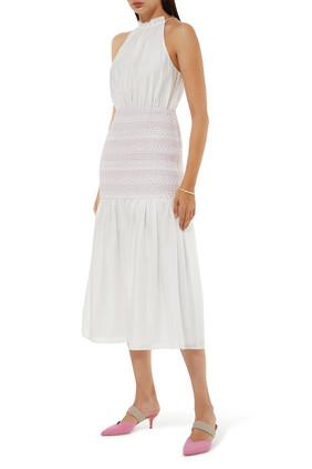 فستان ميستفاي متوسط الطول