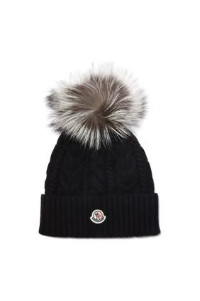 قبعة برقعة ناعمة بشعار الماركة
