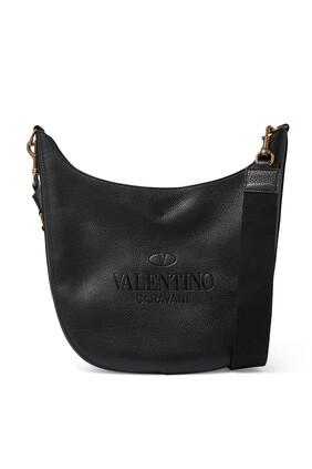 حقيبة هوبو بشعار الماركة