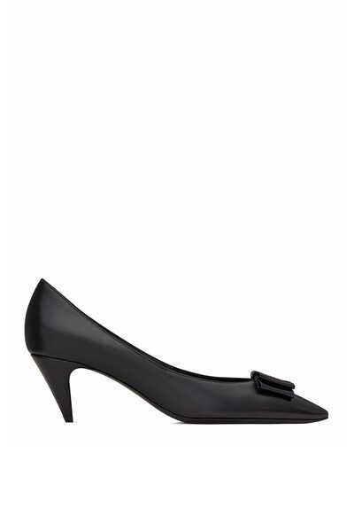 حذاء كلاسيك أنيس مزين بعقدة