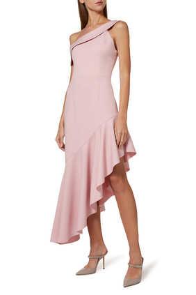 فستان كريب منسدل