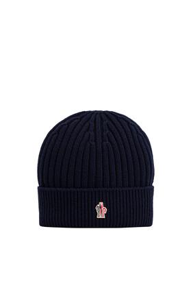 قبعة بيني بشعار الماركة بتصميم Grenoble