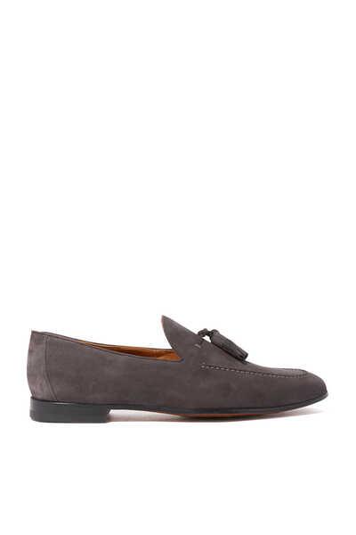 حذاء سهل الارتداء بشرّابات رمادي