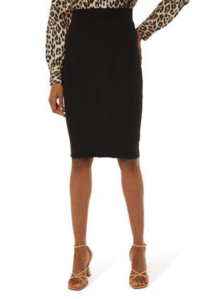 تنورة جيسيكا منسوجة متوسطة الطول