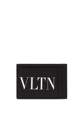 حافظة بطاقات فالنتينو غارافاني بطبعة شعار VLTN