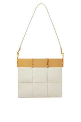 حقيبة كاسيا منسوجة بحجم متوسط