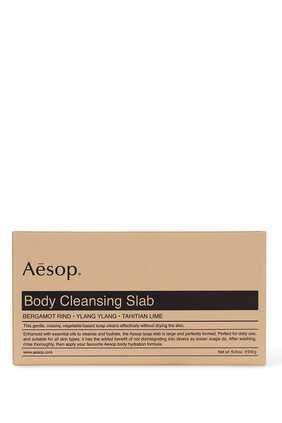 صابونة لتنظيف الجسم