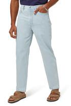 بنطال جينز مارتن بقصة ساق مستقيمة