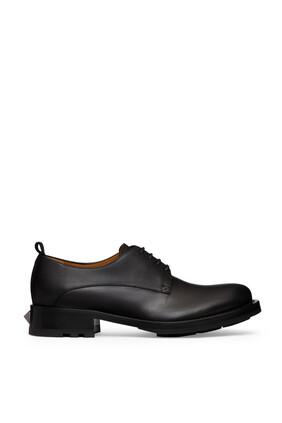 حذاء ديربي فالنتينو غارافاني رومان بحلي هرمية