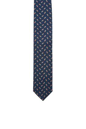ربطة عنق بنقشة خضراوات