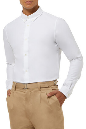 قميص أكسفورد قطن