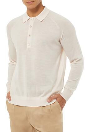 قميص بليتو بأكمام طويلة