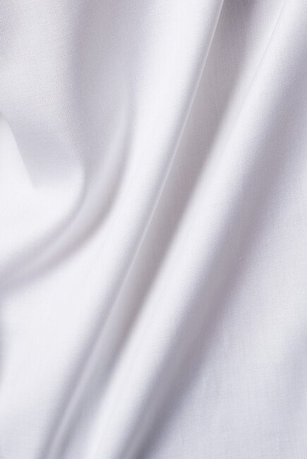 قميص بوبلين بأكمام طويلة