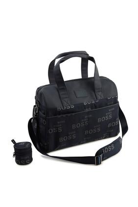 حقيبة مستلزمات الطفل بشعار الماركة