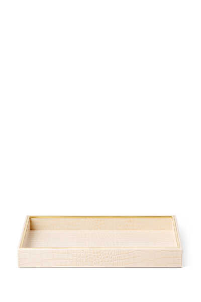 AE Vanity Tray Shagreen:BISQUE:One Size