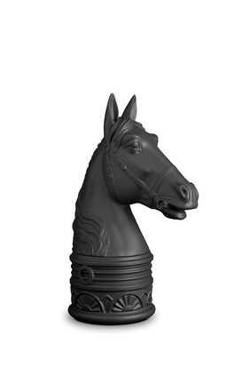 مسند كتب على شكل رأس حصان