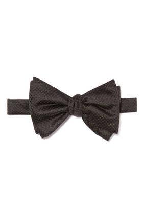 ربطة عنق فراشة مزينة بغليتر