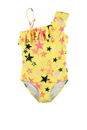 لباس سباحة قطعة واحدة بنقشة نجوم
