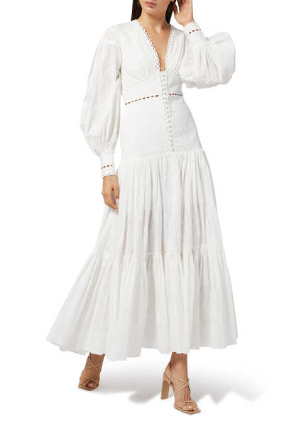 فستان هيندر طويل