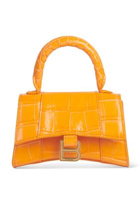 حقيبة ميني بيد علوية وتصميم مقوس