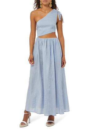 فستان البيروبيلو طويل