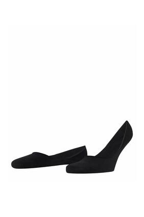 جوارب ستيب خفية أسود