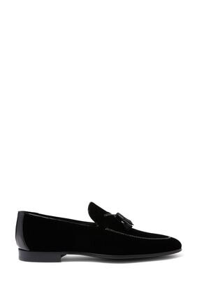 حذاء سهرة سهل الارتداء شمواه بشرّابات