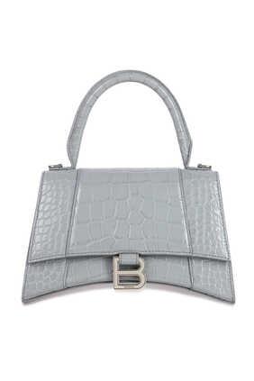 حقيبة بيد علوية وتصميم مقوس مقاس S
