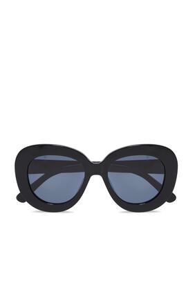 نظارة شمسية استريد بلون أسود