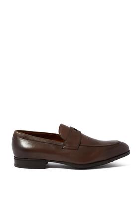 حذاء سهل الارتداء جلد بشريط بيني