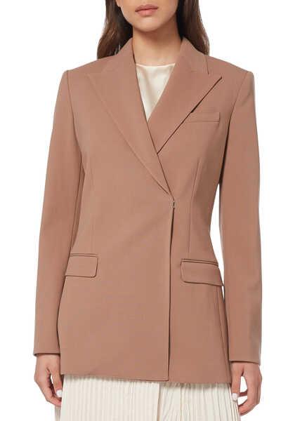 Db Tailor Jkt Nb.Core Wool St 3:Light/Pastel Brown:2