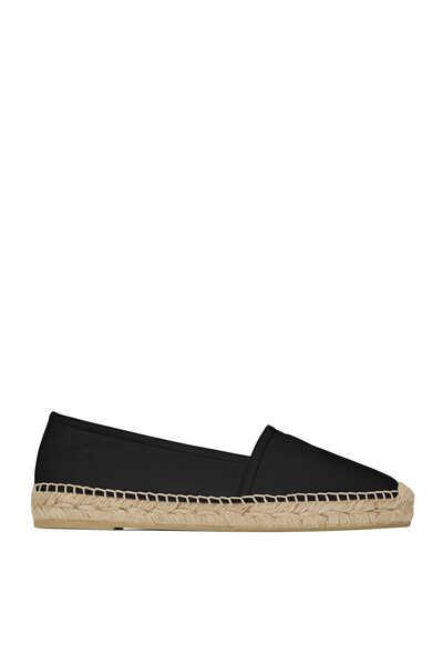 حذاء إسبادريل جلد ماعز بشعار الماركة