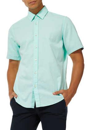 قميص لوكا كتان شامبراي