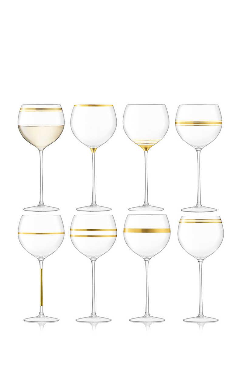 كأس بتصميم عريض وساق طويلة image number 1