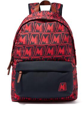 حقيبة ظهر بيريك بطبعة شعار الماركة