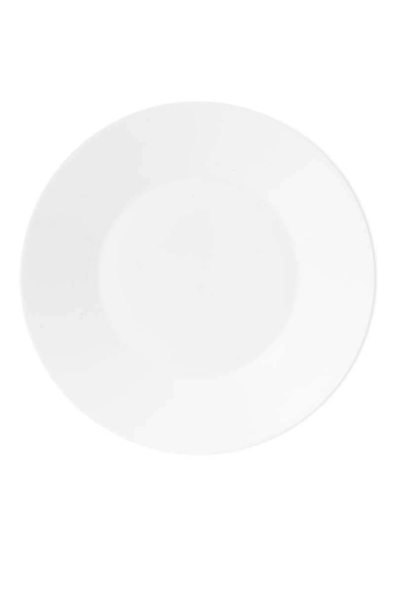 طبق أبيض 23 سم image number 1