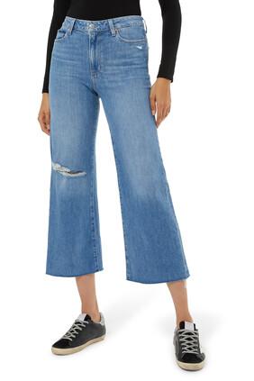 بنطال جينز أنيسا كارا بأجزاء ممزقة