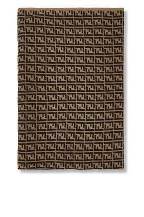 بطانية بنقشة شعار FF