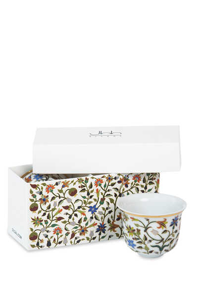 طقم فناجين ماجستك للقهوة العربية، قطعتان