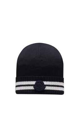 قبعة بيني بشعار الماركة
