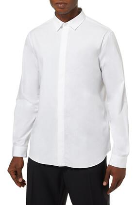 قميص قطن بوبلين