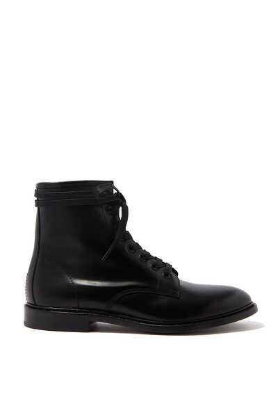 حذاء بوت لينا برباط