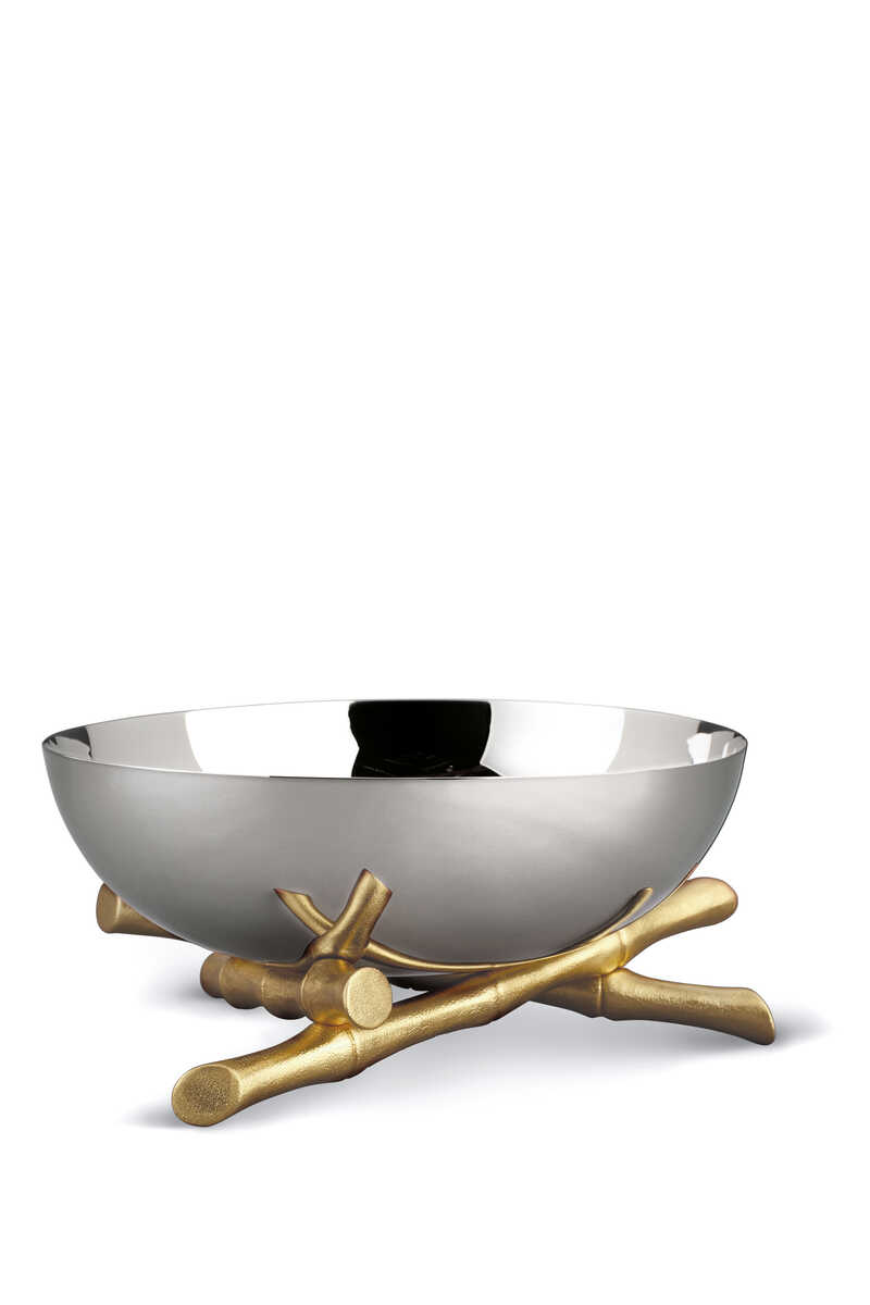 وعاء كبير بتصميم بامبو image number 1