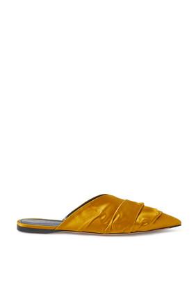 حذاء ايبنو بكعب مسطح ستان